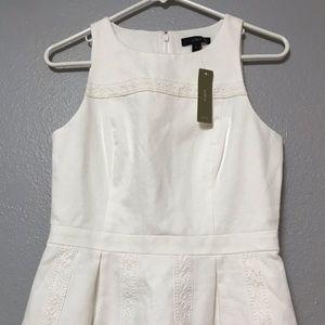 J. Crew white Cotton Dress